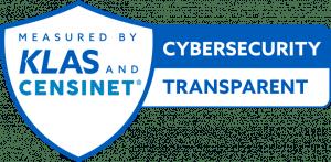 KLAS Censinet Cybersecurity transparent