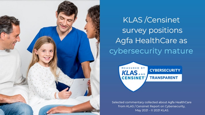 KLAS/Censinet position Agfa HealthCare as cybersecurity mature